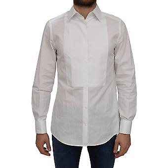 Dolce & Gabbana Dress Cotton Solid Shirt - TSH5028