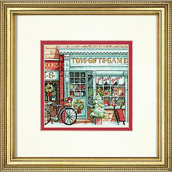 Afmetingen Gold Petite: Counted Cross Stitch: Toy Shoppe