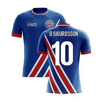 2020-2021 آيسلندا إيرو مفهوم الوطن قميص (G Sigurdsson 10)