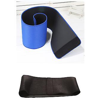 Fitness pás zastrihávač - nastaviteľný Ab Sauna Belt-Blue