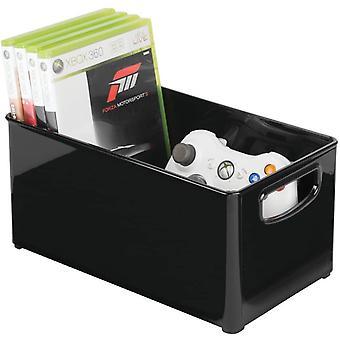 FengChun DVD-Aufbewahrungsbox - Aufbewahrungssystem mit Griff fr DVDs, CDs und Videospiele -