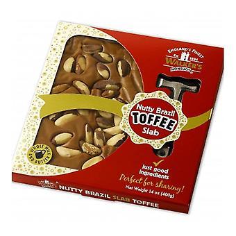 Walkers Nonsuch Nutty Brazil Toffee Deska s kladivem 400g