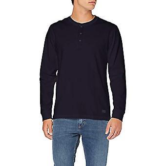 Lee Henley T-Shirt, Blue (Midnight Navy Ma), Small Man