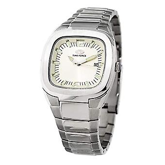 Time Force Analog Watch Quartz Man with Stainless Steel Strap TF2576J-03M