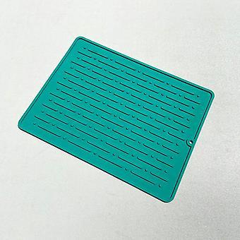 Spisebord mat silikone skridsikker kabinet pad varmebestandige gryderet måtter
