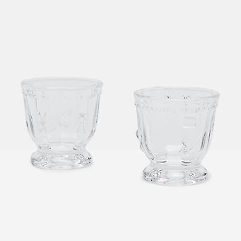 Joules Bees Set Of 2 Glass Egg Cups