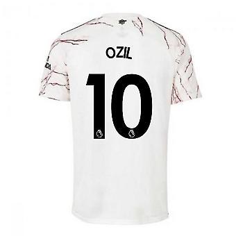 Arsenal Adidas Bortefotballskjorte 2020-2021 (OZIL 10)