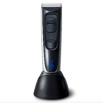 Hc-577 lcd digital display men's hair clipper / electric clipper counter household hair clipper electric clipper dt1698