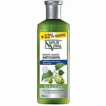 Anti-dandruff Shampoo Sensitive Naturaleza y Vida (400 ml)