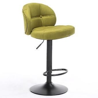 Coffee Shop Fashion High Stool & Continental Classical Bar Chair With Backrest