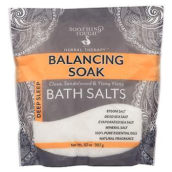 Soothing Touch Bath Salts, Balancing Soak 32 Oz