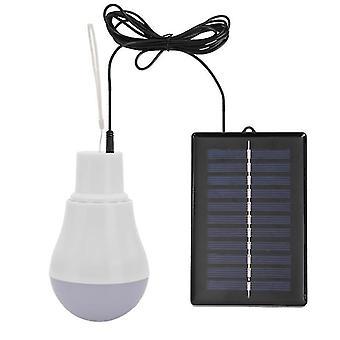 nuevo 5v 15w 300lm ahorro de energía al aire libre lámpara solar usb recargable SM36930