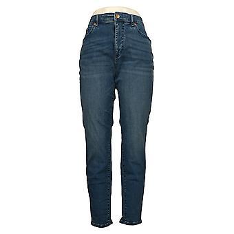 Colleen Lopez Dames Jeans Reg Denim Skinny Blue 737316