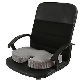 Memory Foam Seat Cushion For Car Seats,Home Office & Travel Cushion(Gray)