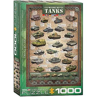 Eurographics History of Tanks Jigsaw Puzzle (1000 Pieces)