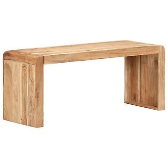 vidaXL Bench 110x38x46 cm Solid wood acacia