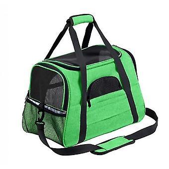 Pet Travel Bag Multifunctional Foldable Pet Bag Easy To Carry Pet Bag(Green)