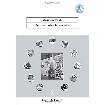 Museum Texts (Museum Meanings (Paperback))