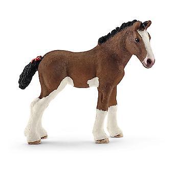 Farm World Clydesdale Veulen Speelgoed figuur