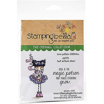 Stamping Bella Cling Stamps - Love Potion Oddball