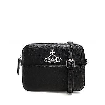 Vivienne Westwood Tillbehör Johanna Vegan Leather Crossbody Bag