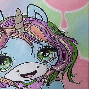 Poopsie Childrens/Kids Reversible Unicorn Duvet Cover Set