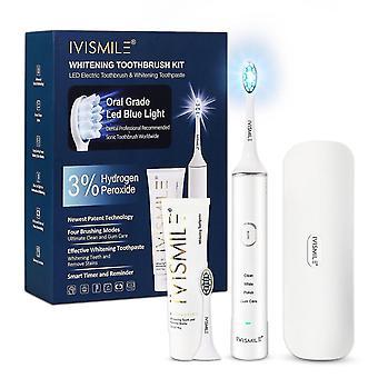 Toothbrushes teeth whitening electric toothbrush set whitening toothpaste whitening care set whitening lamp