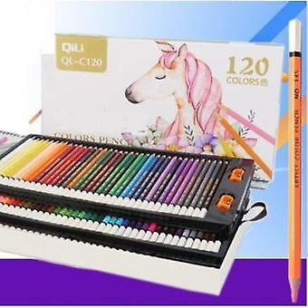 Doos met 120 kleurpotloden, de beste potloden voor kinderen, volwassenen en kunstenaars. Ideaal voor alle soorten kleuren