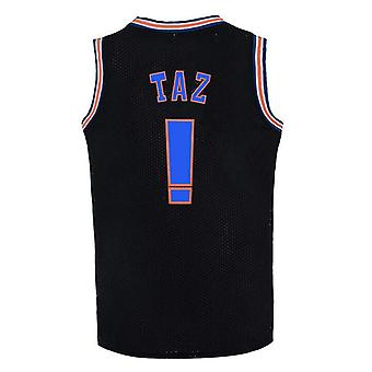 Mens Basketball Jersey Taz Moive Space Jam Sports Maillots de Foot
