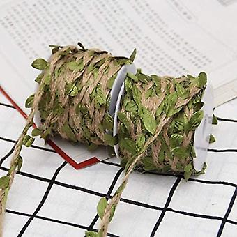2 Rolki Naturalny kolorowy sznurek sznurek kolorowy sznurek