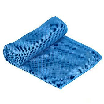 Jäähdytyspyyhe, pyyhkeet mikrokuitu kylmä pää nauha Bandana kaula wrap taivas sininen
