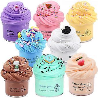 Sofirn 8 Pack Butter Slime Kit, Stress Relief Toys For Girl Boys