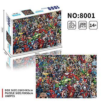 Marvel - Mcu Colaj 1000 Bucată Puzzle