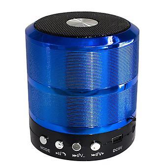 mini bærbar bluetooth trådløs høyttaler super bass for iphone samsung blå