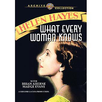 Hvad enhver kvinde ved [DVD] USA import