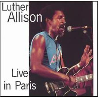 Luther Allison - Live in Paris [CD] USA import