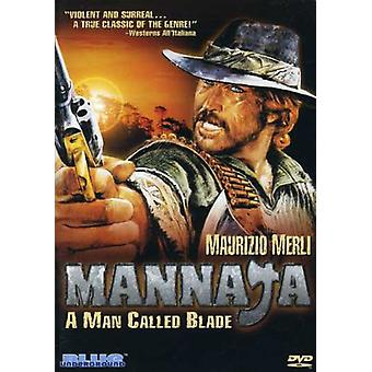 Mannaja: A Man Called Blade [DVD] USA import