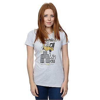 T-shirt binocolo di Daffy Duck Looney Tunes donna