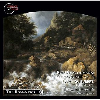 Atlantis Ensemble - Robert Schumann: Piano Quintet, Op. 44; Franz Schubert: The Trout [CD] USA import
