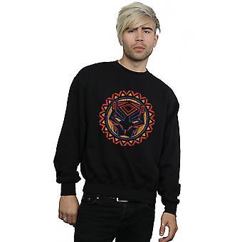 Marvel mænds Black Panther Tribal Panther ikon Sweatshirt