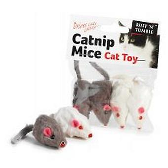Sharples Ruff ´N´ Tumble Catnip Mice 4 Pack