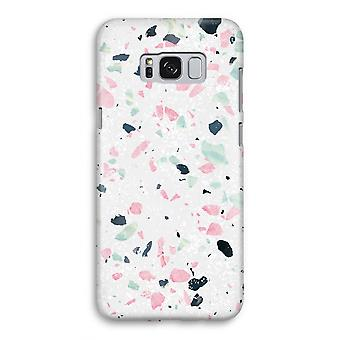 Samsung Galaxy S8 volledige Print kast (Glossy) - Terrazzo N ° 3