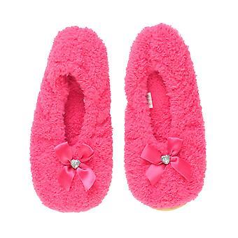 Ajvani naisten joustava luistaa Villan talven sydän helmi keula tossut sukat