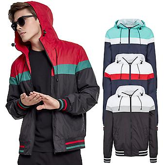 Urban classics - COLLEGE Windrunner windbreaker jacket