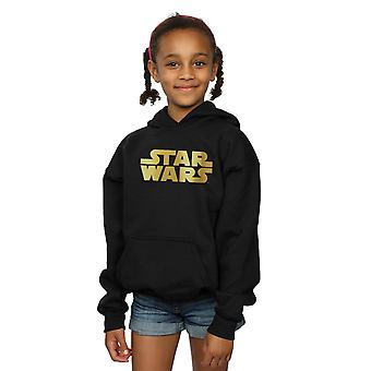 Star Wars Girls Gold Logo Hoodie
