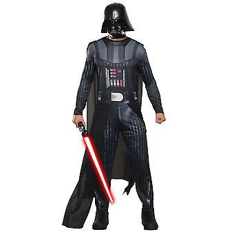 Darth Vader Sith Señor foto Real Disney Star Wars hombres traje