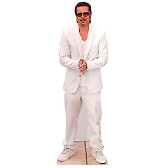Découpe de carton de Brad Pitt