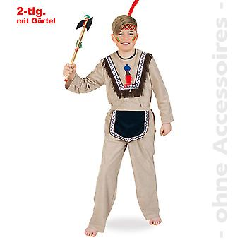 Native American kostume barn børn mohikaner Apache barn kostume