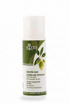 Extraem o desmaquilhante de olhos suave com Aloe Vera e pepino.