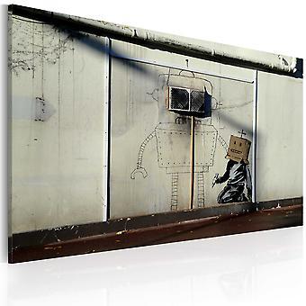 Vászon Print-robotok (Banksy)
